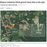 Abbotsford Mission Times Article on Steelhead & Opposition to Thomas Avenue Mine