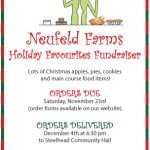 Neufeld Farms Holiday Favourites Fundraiser