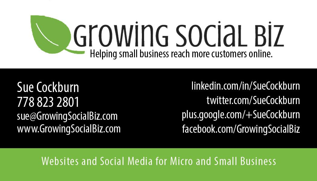 Growing Social Biz