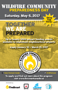 FireSmart National Wildfire May 2017 Poster