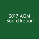 2017 AGM Board Report image