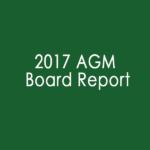 2017 AGM Board Report image